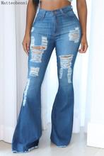 Jeansy rozkloszowane damskie seksowne zgrywanie dżinsy z szeroką nogawką spodnie jeansowe Vintage bell bottom Jeans spodnie z wysokim stanem lady push up calca jeans tanie tanio Matteobenni COTTON Pełnej długości Osób w wieku 18-35 lat 2020 Fashion 682A WOMEN Styl uliczny CASUAL Plaid Wysoka Przycisk fly
