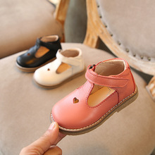 Shoes Baby Genuine-Leather Soft-Bottom Hollow-Out Girls Children's New