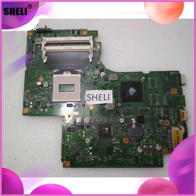 SHELI DUMB02 Lenovo Z710 anakart N15S-GT-B-A2 ekran kartı 2GB