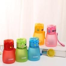 Kids Water Bottle Borraccia Water Bottles Cute with Straw Bidon Dla Dzieci Garrafinhas Gourde En Plastique Sport Fles Butelki beatrix podolska rytmika dla dzieci