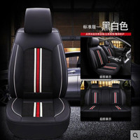 High Quality Leather+ice silk car seat cover For mazda2 skyactiv version cx3 CX 3 For kia picanto ( Front + Rear ) 5 seat cushio