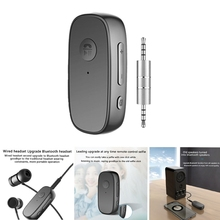 Bluetooth-Connector Headset Multi-Function Car-Stereo Clip-On