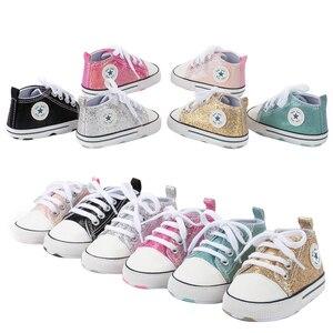 Парусиновые детские спортивные кроссовки; Обувь для новорожденных девочек; Обувь для первых шагов для мальчиков; Мягкие Нескользящие Детск...