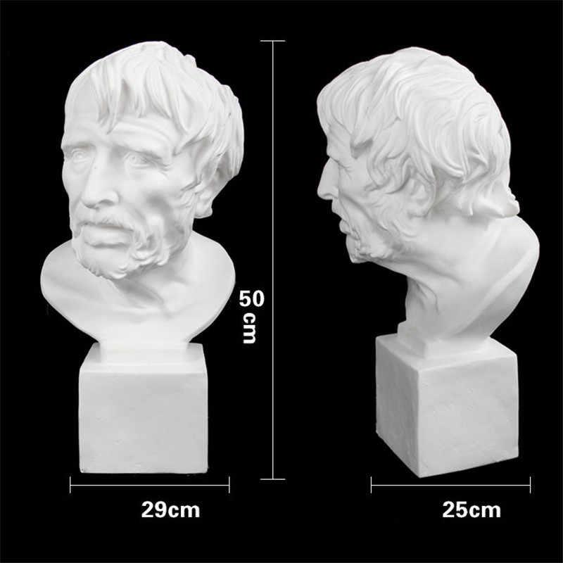 50 CENTIMETRI Pirata Statue di Figure di Gesso Del Busto In Resina Scultura Art & Craft Accessori Decorazione Della Casa di Arte Materiale M3925