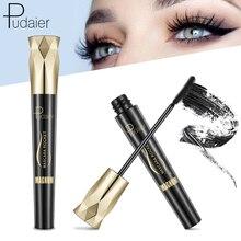 Pudaier 4D Очаровательная тушь для ресниц, Водостойкая тушь для наращивания ресниц, макияж, шелковая прививка, флюид для роста, профессиональная Rimel для глаз