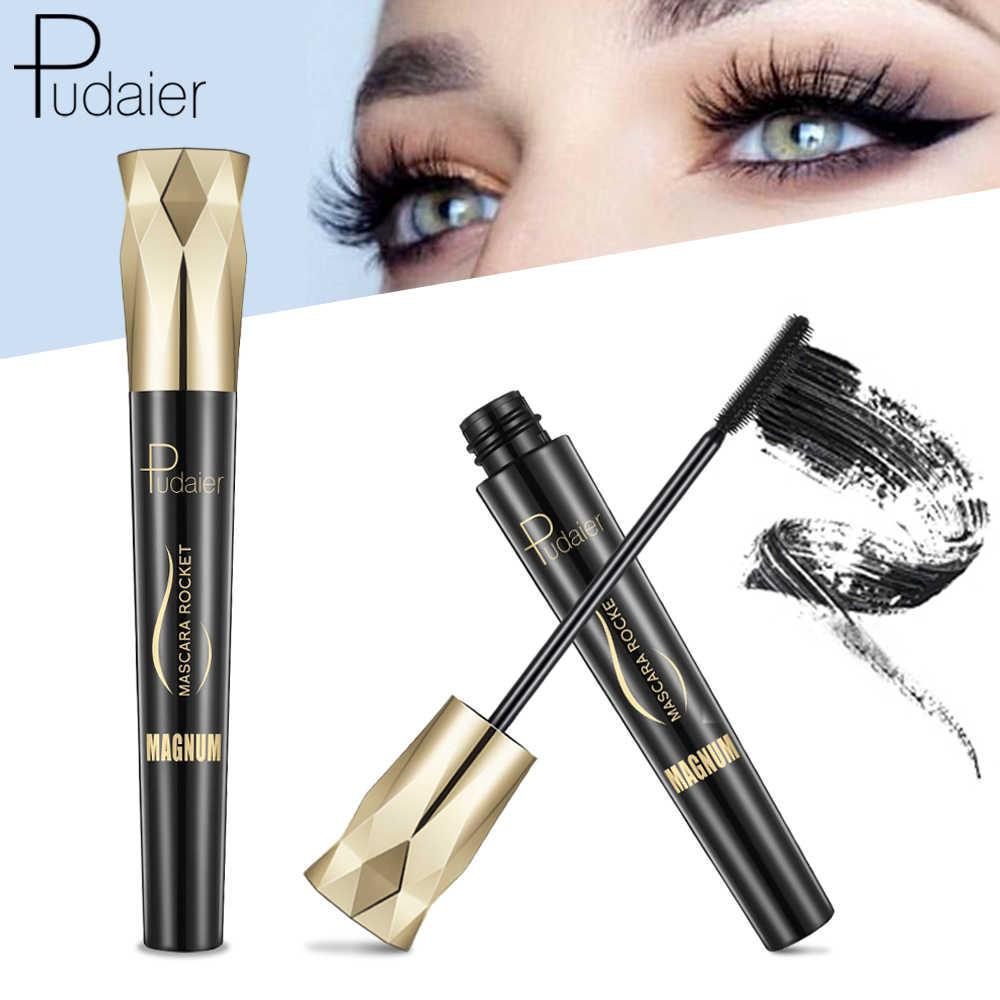 Pudaier 4D encanto máscara volumen extensiones de pestañas impermeables maquillaje seda injerto crecimiento fluido Rimel profesional para ojos