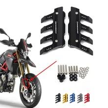 Aprilia DORSODURO 1200  750 Motorcycle Mudguard Front Fork Protector Guard Block Front Fender Anti-fall Slider Accessories