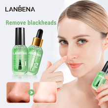 LANBENA Face Mask Blackhead Remover Serum Quick Drying Fragrance Non Stick Finger Facial Deep Cleaning Shrink Pores Skin Care