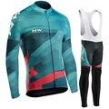 Набор Джерси для велоспорта 2019 Pro Team NW Hombre Ropa Ciclismo Northwave весна/осень комплект с длинным рукавом для велоспорта Одежда для горного велосипеда