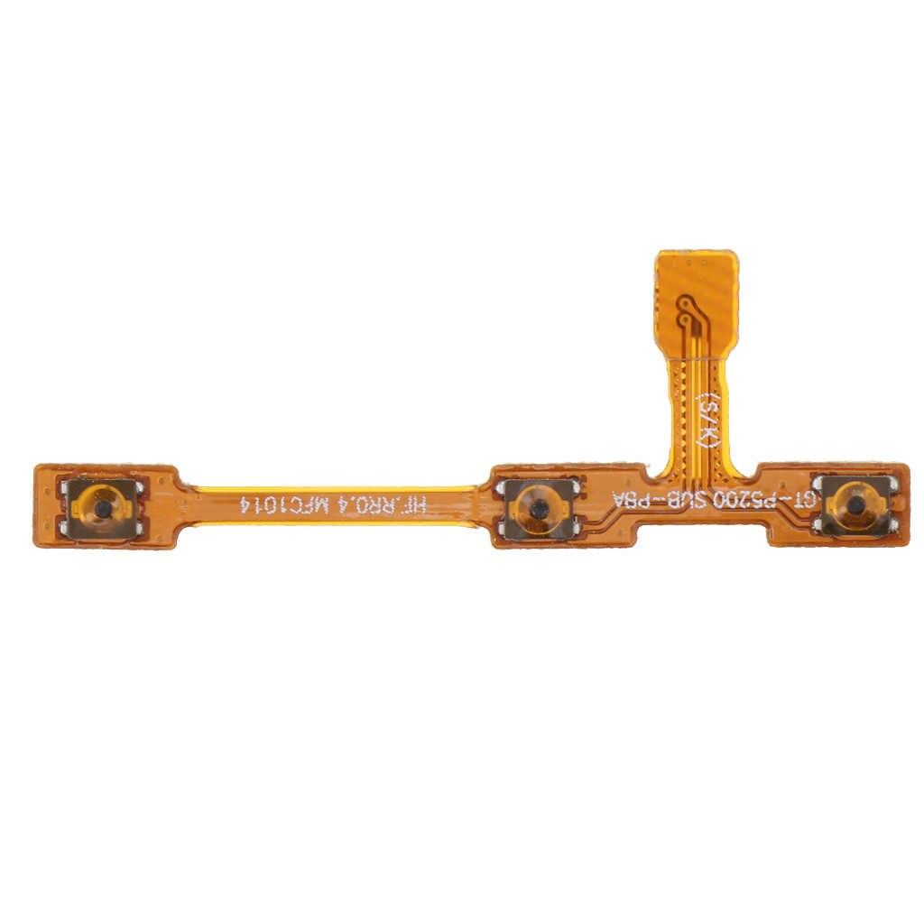 استبدال أجزاء لسامسونج غالاكسي تبويب 4 10.1 بوصة T530 T531 لوحة المفاتيح حجم الطاقة على/قبالة الجانب مفتاح فليكس كابل الشركة العامة للفوسفات