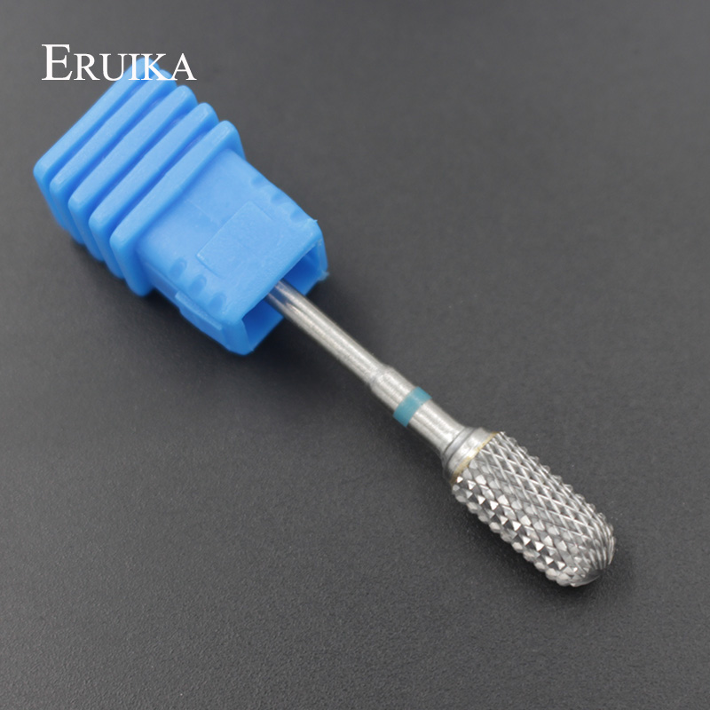 ERUIKA Tungsten Carbide Bur Nail Drill Bit Rotate Electric Nail Cutter Machine For Manicure And Pedicure Nail Drill Accessory