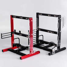 Case-Accessories Chassis-Rack Frame Diy Computer Vertical Open Overclocking Aluminum