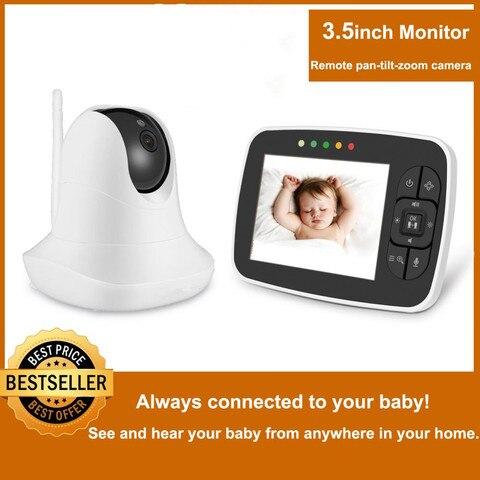 3 5 monitor monitor monitor de alta resolucao do bebe visao noturna infravermelha sem fio