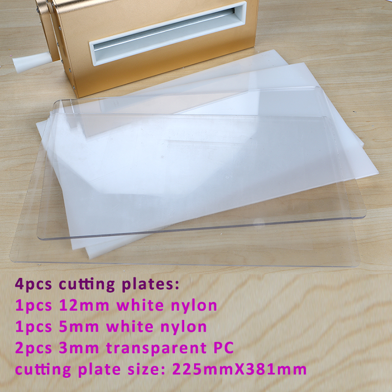 DUOFEN die cutting machine A4 225mm 8inch cutting dies embossing leather fabric cutting for DIY Scrapbook Paper Album 2019 new - 3