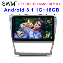GPS Navigation Radio Car for TOYOTA CAMRY 1G+16GB Android 8.1 Autoradio Stereo Coche Mirror Link Reversing Cam