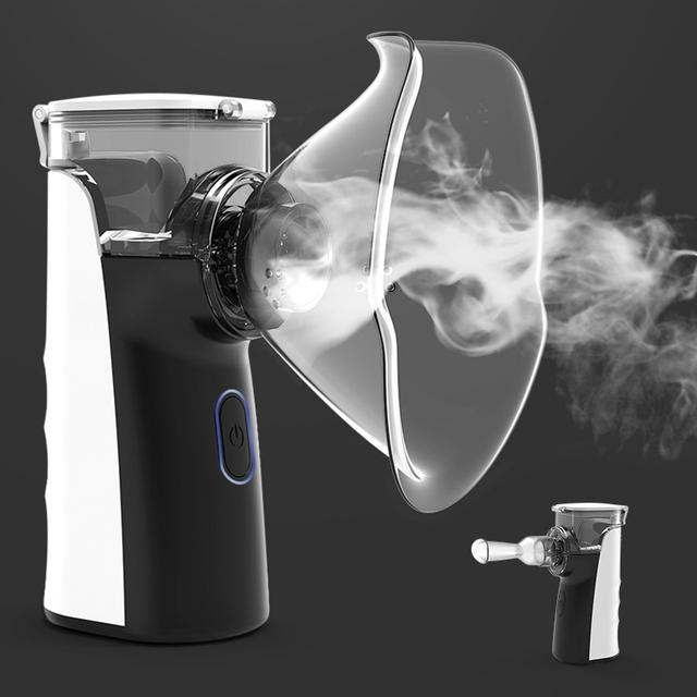 Mini Portable Nebulizer Nebulizer Hand Held Inhaler For Children Adult Atomizer Nebulizer