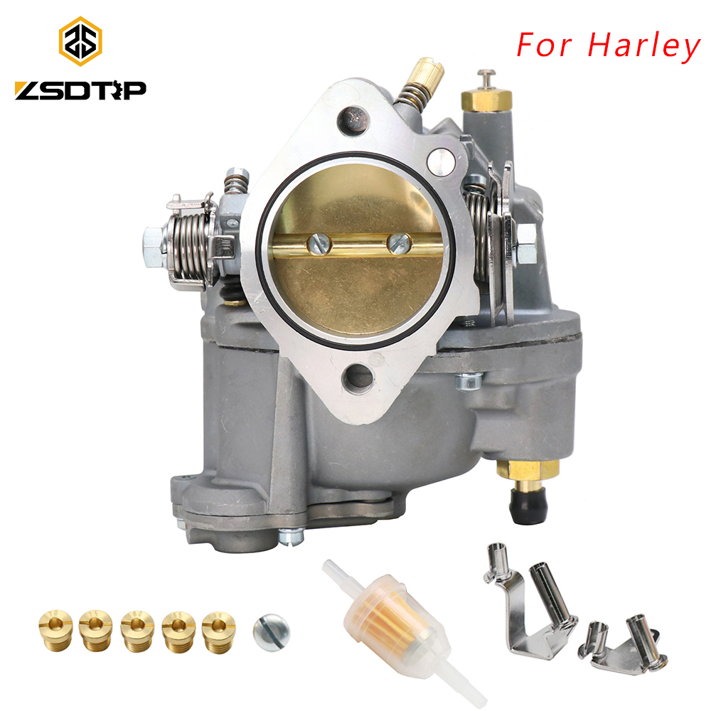 ZSDTRP Motorcycle Replace <font><b>Carburetor</b></font> For Harley Big Twin Super e & Sportster S&S Shorty Carb 11-0420 For Harley <font><b>Carburetor</b></font> image