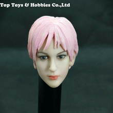 цена на 1/6 Scale Action Head Carving Model Non-Rebecca Aida Doll head Sculpt Toy for 12