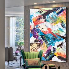 Abstract Wall Art Canvas picture handmade Graffiti oil Paintings On The Modern pictures For Bed Room Cuadros