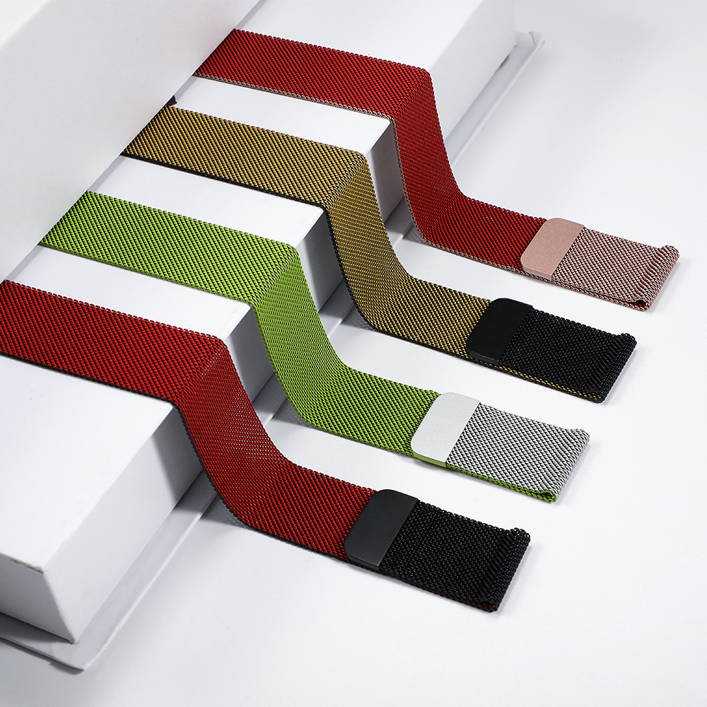 Milanese Loop Strap For Apple Watch Strap Pulseira Apple Watch 5 4 3 2 1 Strap 44mm / 40mm Iwatch 5 42mm 38mm Correa Strap