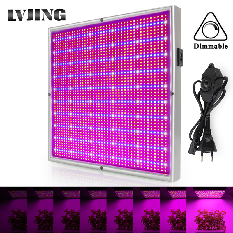 200W Plants Grow Light Panel LED Full Spectrum Indoor Hydroponics Greenhouse Cultivation Growth Lamp For Plants