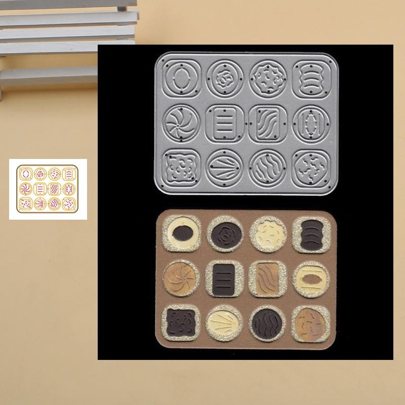 Chocolate Box Metal Cutting Dies Stencils For DIY Scrapbook Photo Album Paper Card Decorative Craft Embossing Dies