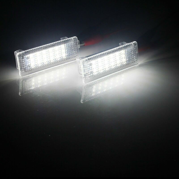 For BMW 1 3 5-7 Series X3 X5 X6 Luggage Light Door Polite Lamp 6000K Xenon White image