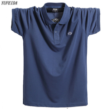Polo-Shirt Short-Sleeve Business Brand-Clothing Breathable Men Casual Pure-Cotton Male