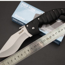 High quality Spartan 440C Blade ABS Handle Outdoor Camping Hunting Folding Knife tactical Survival K