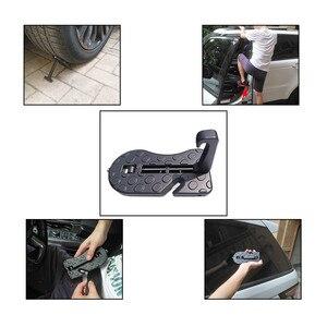 Image 5 - Auto Tür Schritt Pedal Universal Auto Dach Gepäck Leiter Süchtig Fußrasten Haustür Sicherheit Hammer