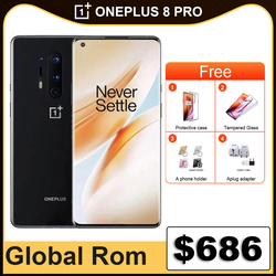 Global ROM Oneplus 8 pro 8pro 5G Mobile Phone 6.78