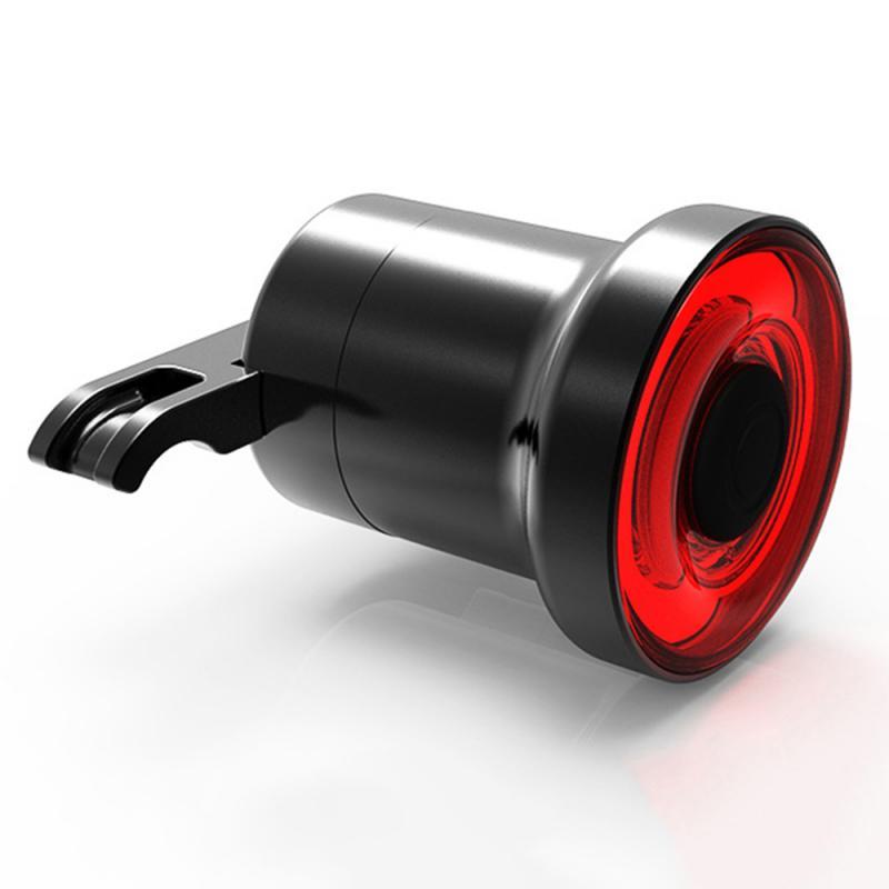 Nouveau vélo feu arrière LED charge XLITE100 lampe de poche vélo feu arrière démarrage automatique frein détection IPX6 vélo arrière 400mAh lumière lampe