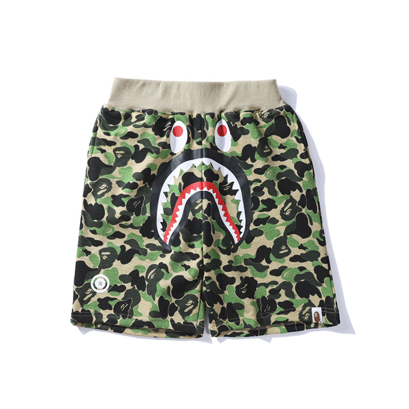 Europe And America Camouflage New Style Teenager Color Casual Pants Men Fashion Shorts Loose Harem Pants
