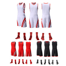 Высококачественные ткани баскетбол Новая баскетбольная форма костюм для мужчин и женщин баскетбольная куртка быстросохнущая, может быть настроена