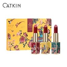 CATKIN Lipstick, Rouge Red Long Lasting Moisturizing Lip Stick Makeup, X SUMMER PALACE Theme