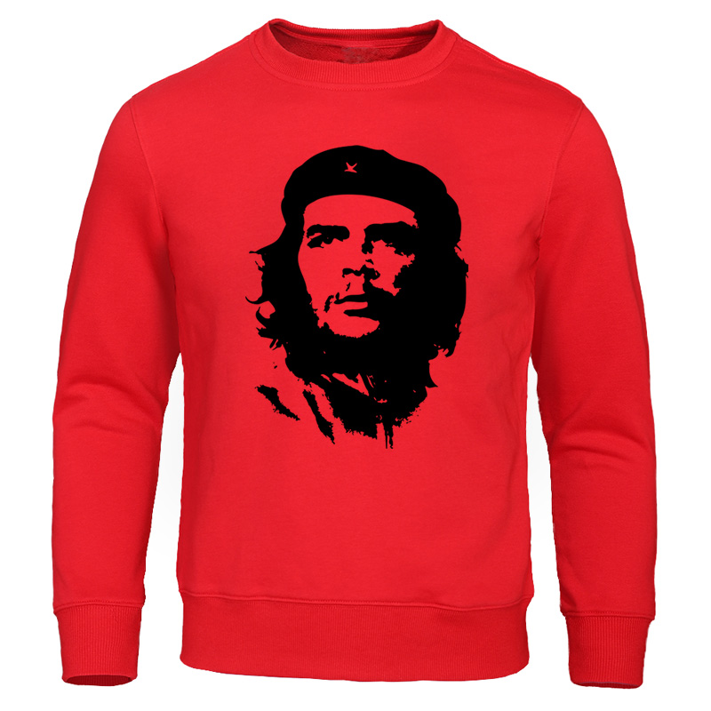 Che Guevara Hoodie Sweatshirt Men Casual Capless Sweatshirts Argentina Hero Hoodies Fashion Streetwear Autumn New Mens Tracksuit