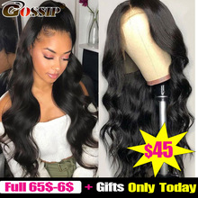 360 Lace Frontal Wig Pre Plucked With Baby Hair Brazilian Body Wave Wig 6 Inch Lace
