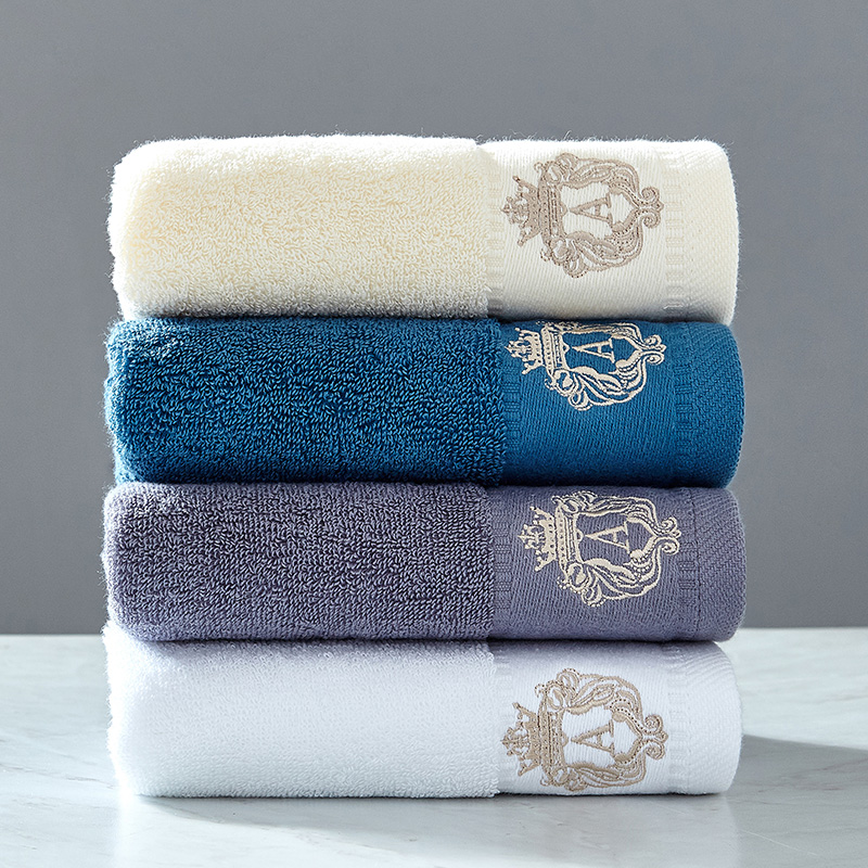 1PC High Quality 100% Cotton Adult's and children's family  face Towel Soft Absorbent Washcloth Household Travel Gym 34x75cm 1