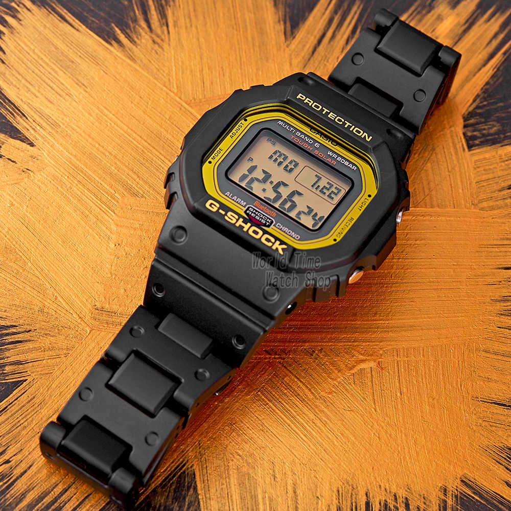 Casio שעון חכם גברים G יוקרה מותג עליון מותג יוקרה 200 m עמיד למים שעון קוורץ ספורט LED צלילה צבאית דיגיטלית גברים שעון G-Shock Bluetooth 6 להקה שעון יד מבוקר רדיו relogio masculino reloj hombre erkek kol saati montre