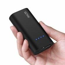 بنك طاقة صغير من INIU بسعة 5200 مللي أمبير في الساعة مزود بمنفذ USB قابل للحمل وشحن سريع وبنك الطاقة لشحن البطارية الخارجية من شركة شاومي mi9