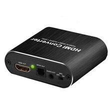 HDMI audio séparateur extracteur 4K 60hz HDMI vers Audio extracteur 5.1 ARC audio sortie indépendante stéréo SPDIF signal HDMI commutateur