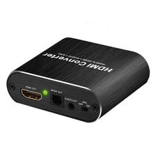Rozdzielacz audio HDMI 4K 60hz HDMI na ekstraktor Audio 5.1 łuk audio niezależne wyjście stereo SPDIF sygnał przełącznik HDMI