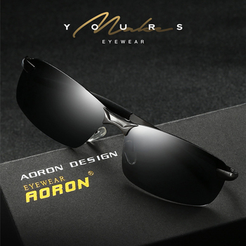 Male Aviation Metail Frame Quality Sun Glasses 1