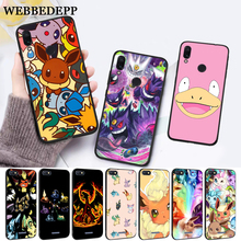 cartoon pokemons eevee pika Silicone Case for Xiaom