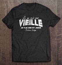 T-shirt Vintage pour hommes et femmes, Je Ne Suis Pas vieux, Je Suis Jeune, Tendance