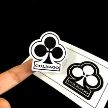 1pcs Colnago Sticker Mark for Road Bike Bicyle Frame Mountain Bike MTB Hat Cap for Cycling Decal(China)