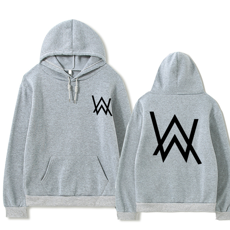 2021 Fall/Winter Alan Walker Hoodie Couple Loose Large Size Wild Casual Men and Women Pullover 4