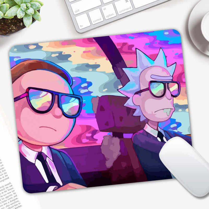 Anime Rick dan Morty Mousepad Permainan Gamer Gaming Mouse Pad Lembut CSGO Dota 2 Laptop Notebook Mat