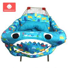 folding baby shopping cart cover portable infant baby shopping cart seat cover chair cushion safety toddler children's play mat