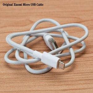 0,8/2 м оригинальный Xiaomi Micro USB кабель зарядное устройство Синхронизация данных для Redmi 7 6 5 S2 6A 5A 4A 4X Note 6 Pro Plus зарядное устройство Шнур проводной кабель